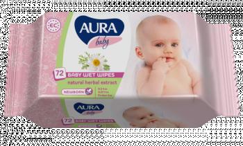 aura Влажные салфетки Aura, 72 шт.