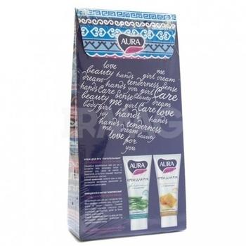 Набор Aura Beauty Любимые ручки: крем для рук увлажняющий + крем для рук питательный Aura