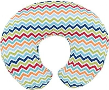 chicco Подушка для кормления Chicco Boppy Pillow, разноцветный зигзаг (79902.36)