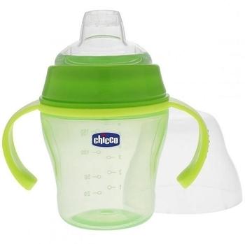 Чашка для прогулок Chicco Soft Cup, зеленый Chicco