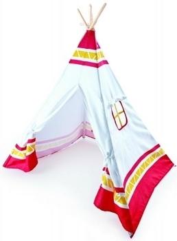 Детская игровая палатка Hape Вигвам, красный Hape