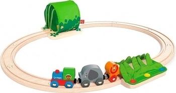 Купить со скидкой Детская железная дорога Hape Путешествие по джунглям