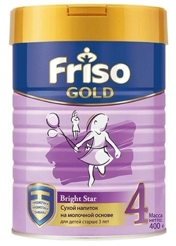 Молочная смесь Friso Фрисолак Gold 4, 400 г Friso