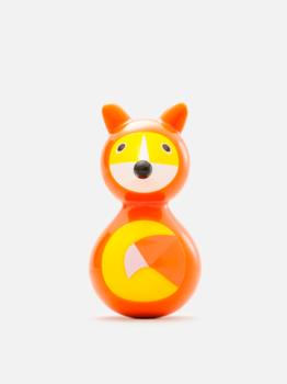 Купить со скидкой Игрушка-неваляшка Kid O Лисичка