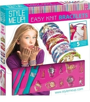 Набор для изготовления браслетов Wooky Easy Knit Bracelets (00868) Wooky