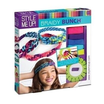 Набор для изготовления украшений для волос Wooky Braidy Bunch (00860) Wooky