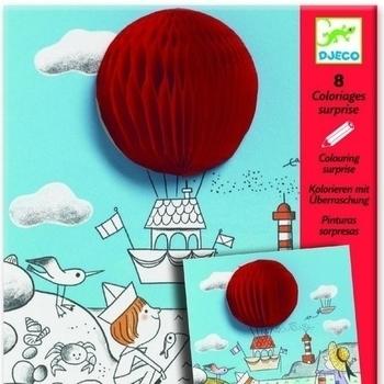 Художественный комплект для рисования Djeco Веселый шар (DJ09648) Djeco