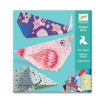 Художественный комплект оригами Djeco Большие животные (DJ08776) Djeco