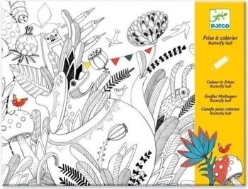 Художественный комплект для рисования Djeco Бал бабочек (DJ09645) Djeco