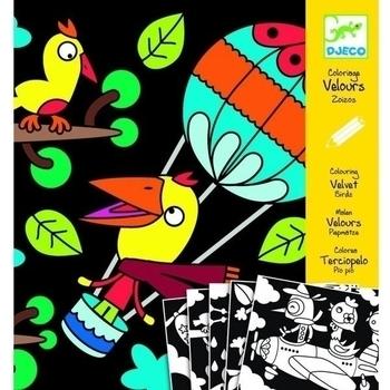 Художественный комплект для рисования Djeco Птица (DJ09621) Djeco