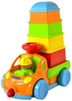 Развивающая игрушка TOMY Грузовик с пирамидкой TOMY