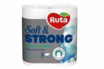 Бумажные полотенца Ruta Soft Strong, 2 рулона Ruta