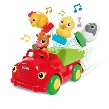 Игрушка-сортер TOMY Машинка с животными TOMY