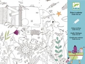Художественный комплект для рисования Djeco Подводный мир (DJ09646) Djeco