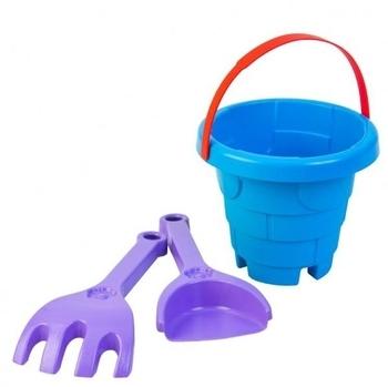 Набор для песка Tigres Башня, 3 эл., синий с фиолетовым (39282) Tigres