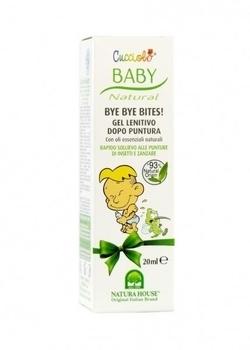 Детский успокаивающий крем после укусов комаров и насекомых Baby Cucciolo Bye Bye Bite, 20 мл Baby Cucciolo