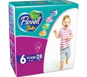 Подгузники Flovell Baby Large (16+ кг), 28 шт. Flovell