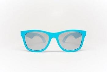babiators Солнцезащитные очки Babiators Aces Electric Blue Navigator, серебряные линзы (7-14 лет) ACE-013