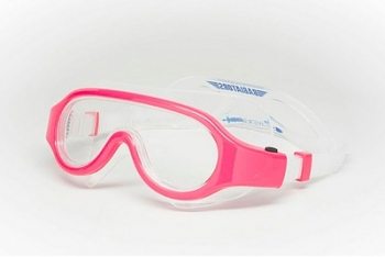 babiators Очки для плавания Babiators Submariners Swim Goggles, розовые (3-7 лет) BAB-069