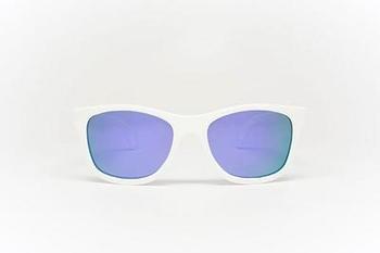 babiators Солнцезащитные очки Babiators Aces Wicked White Navigator, голубые линзы (7-14 лет) ACE-011
