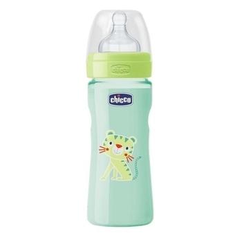 Бутылочка пластиковая  Well-Being с силиконовой соской, 250 мл Chicco