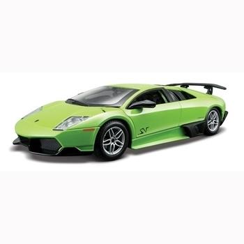 bburago Автоконструктор Bburago Lamborghini Murcielago LP670-4 SV 1:24, зеленый (18-25096)