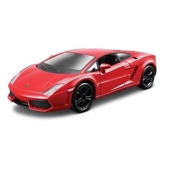 bburago Автоконструктор Bburago Lamborghini Gallardo LP560-4 (2008) 1:32, красный (18-45128)