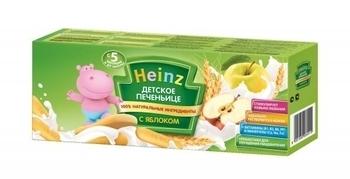 Детское печенье Heinz с яблоком, 160 г Heinz