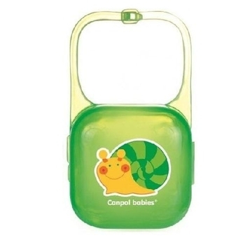 Футляр для пустышки Canpol babies, зеленый (2/927) Canpol babies