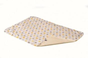 Двусторонняя многоразовая пеленка ЭКО ПУПС Eco Cotton, хлопок, р.50х70 см, горошек ЭКО ПУПС
