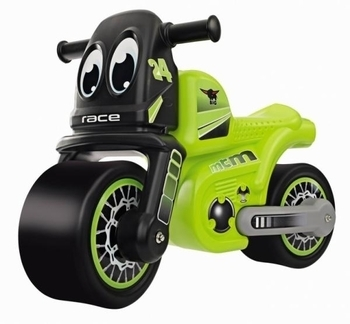 Мотоцикл-толокар Simba Racing-Bike, зеленый (56328) Simba
