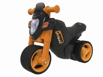 Мотоцикл-толокар Simba Спортивный стиль, оранжевый (56361) Simba