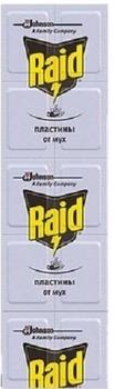 Купить Средства защиты от комаров и насекомых, Пластины Raid от мух для фумигатора, 10 шт.