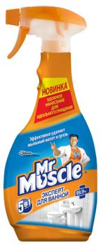 Средство для ванной комнаты Mr Muscle 5 в 1 с распылителем, 550 мл Mr Muscle