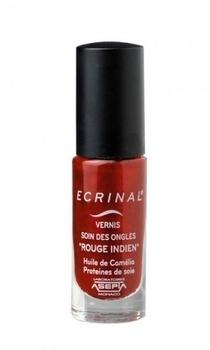 Лак-уход для укрепления и питания ногтей Ecrinal, красный, 6 мл Ecrinal
