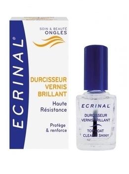 Покрытие для мгновенного укрепления ногтей и придания им блеска Ecrinal, 10 мл Ecrinal
