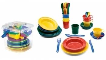 Набор посуды в корзинке Viking Toys Viking Toys