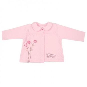 bibaby Кофточка Bibaby, р.68, розовый (61060)