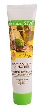 Крем для рук и ногтей Natural Spa с цветами календулы, 110 мл Natural Spa