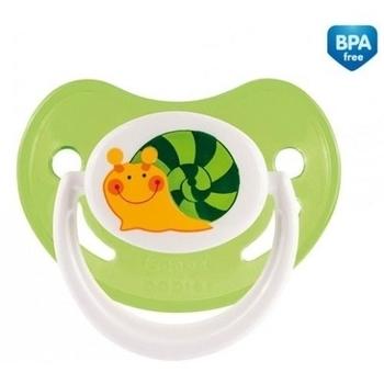 Силиконовая анатомическая пустышка Canpol Babies Веселый сад, 6-18 мес., зеленый (22/560) Canpol babies
