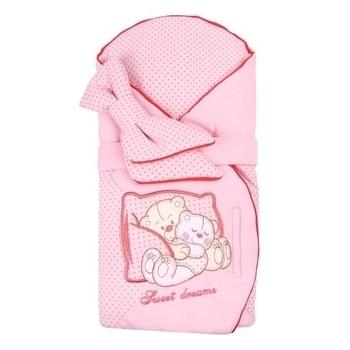 Конверт Royal Infant Мишки на диване, розовый в горошек (1102) Royal Infant