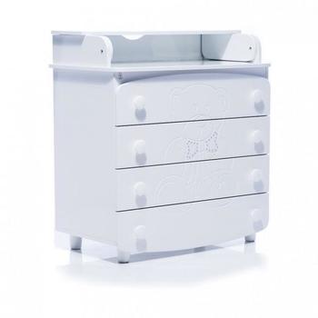 Комод-пеленатор Верес, белый (25.5.06) Верес