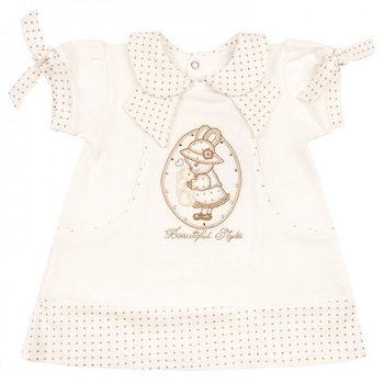royal infant Платье Royal Infant Beautiful, интерлок, р.68, молочный (1134)