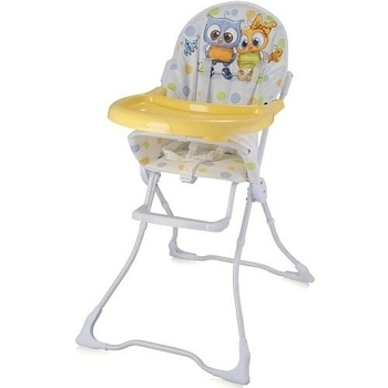 Стульчик для кормления Bertoni Candy Baby owls, белый (19606) Bertoni