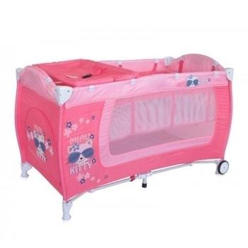 Манеж Bertoni Danny 2L Kitty, розовый (19554) Bertoni