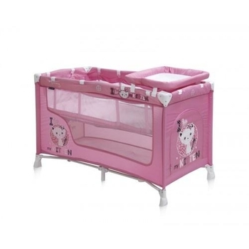 Манеж Bertoni Nanny 2L Kitten, розовый (18198) Bertoni