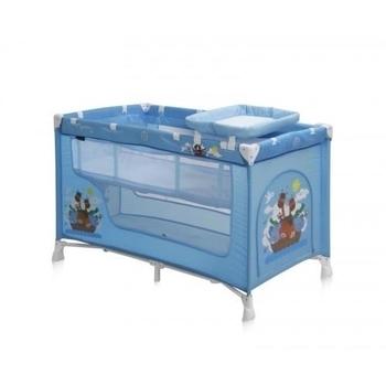 Манеж Bertoni Nanny 2L Adventure, синий (18196) Bertoni