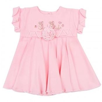 royal infant Платье Royal Infant Сладкий стиль, интерлок, р.62, розовый (1126)