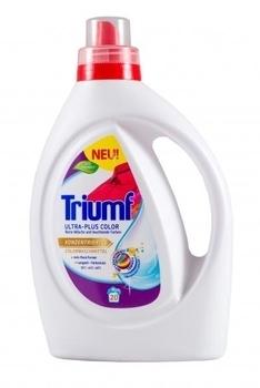 Концентрированный гель Triumf Ultra-Plus Weib для цветных тканей, 1 л Triumf