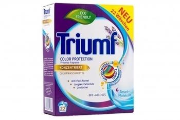 Концентрированный стиральный порошок Triumf для цветных тканей, 1,6 кг Triumf